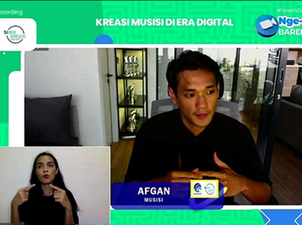 Afgan & Aulion Berbagi Tips Bikin Konten Kreatif di IG hingga TikTok