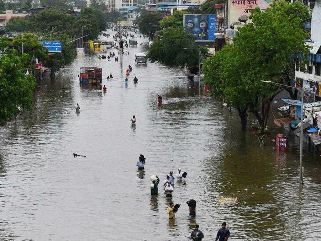 Korban Tewas Banjir-Longsor di India Jadi 159 Orang, Puluhan Hilang