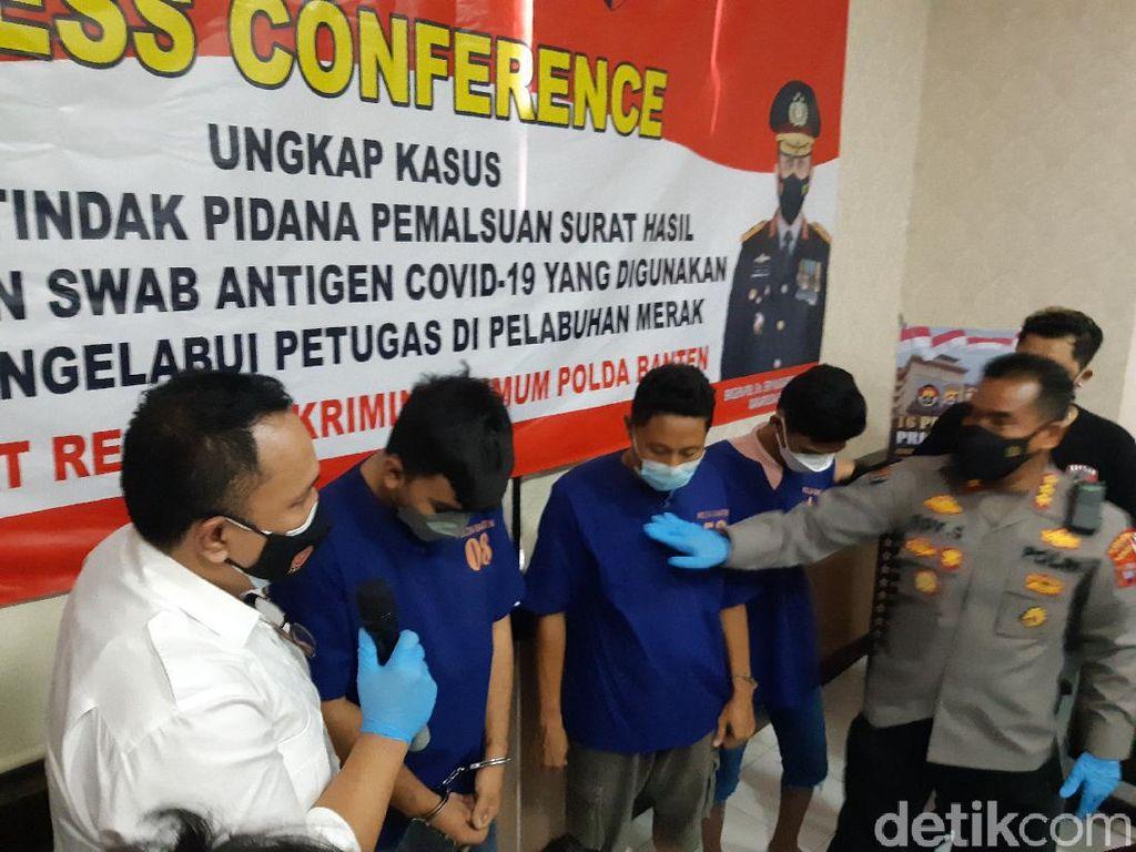 Dokter Pemalsu Surat Swab Penumpang Pelabuhan Merak Ditangkap