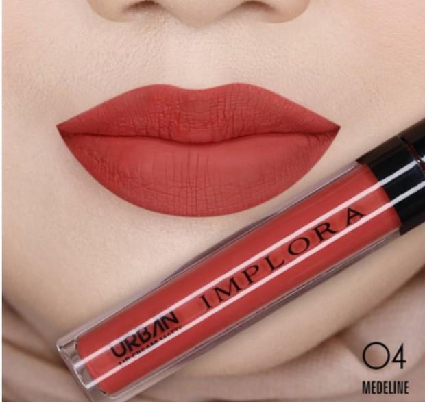Implora Urban Lip Cream Matte #04 Medeline / foto: shopee.co.id/imploracosmetic