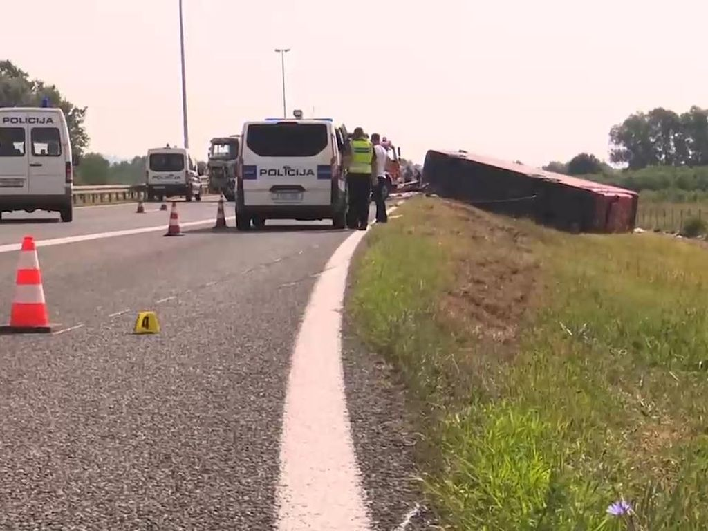Kecelakaan Bus di Kroasia Tewaskan 10 Orang, 45 Luka-luka