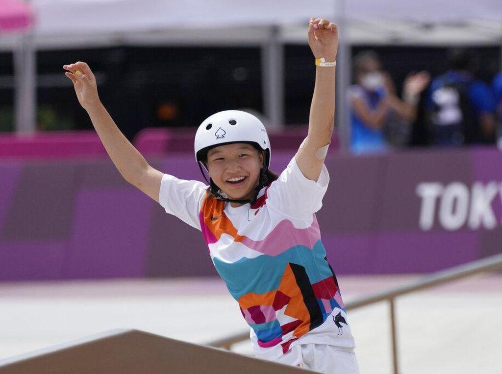 Apakah Momiji Nishiya Peraih Emas Termuda dalam Sejarah Olimpiade?