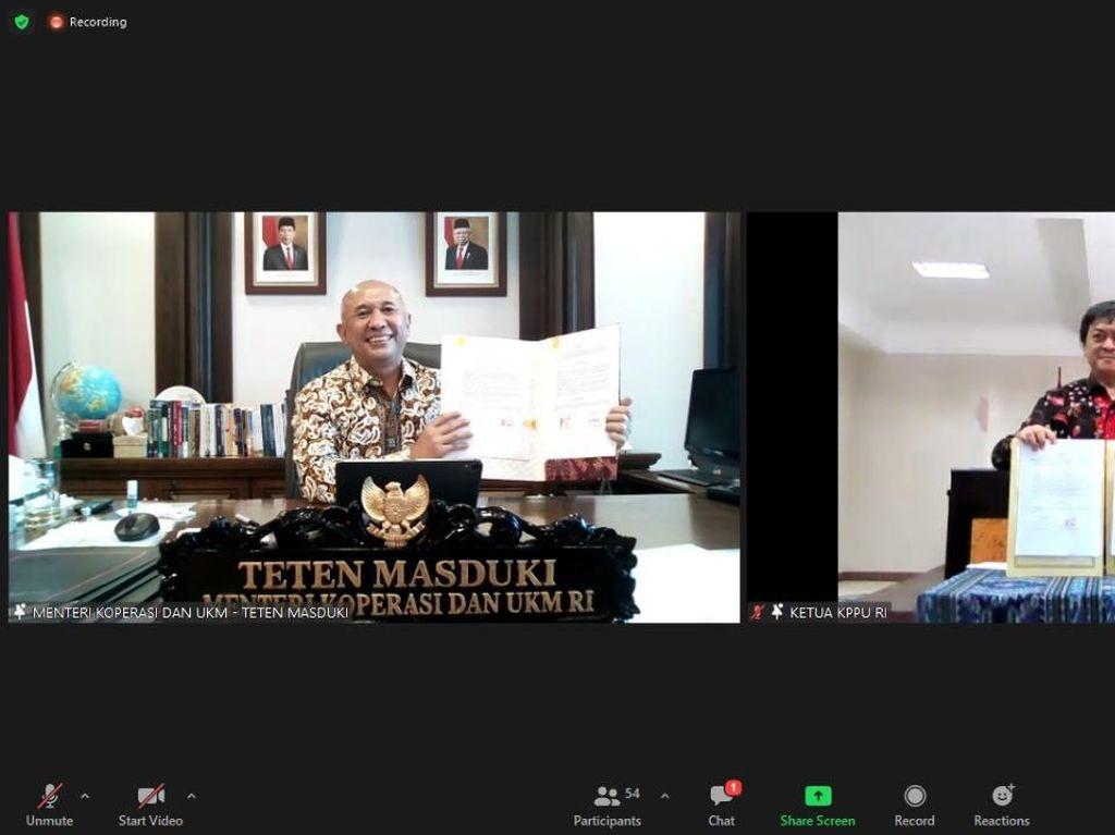 Kemenkop & KPPU Awasi Persaingan Kemitraan UMKM & Usaha Besar