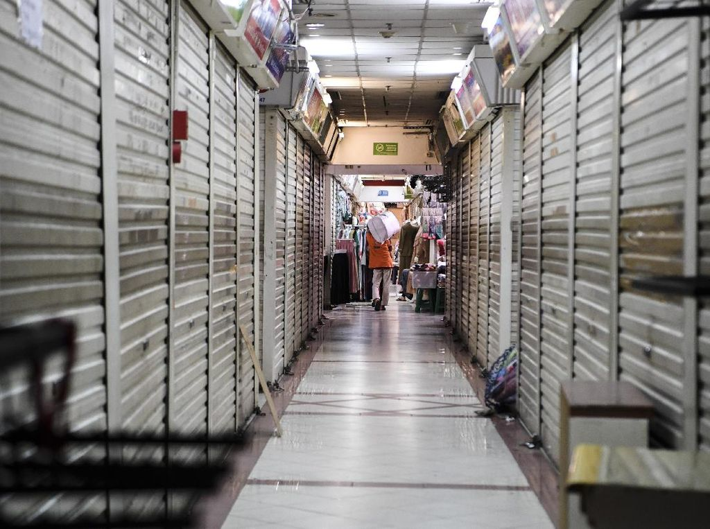 Pedagang Pasar ke DPR, Bicara soal Kios-kios Kosong