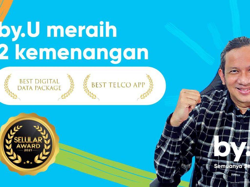 Keren! by.U Sabet 2 Penghargaan Sekaligus di Selular Awards 2021