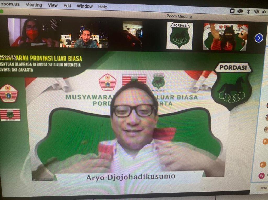 Aryo Djojohadikusumo Jadi Ketua Pordasi DKI Jakarta 2021-2023