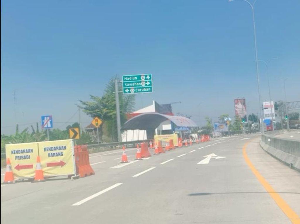 Perpanjangan PPKM Level 4, Penyekatan Exit Tol Madiun Dilonggarkan?
