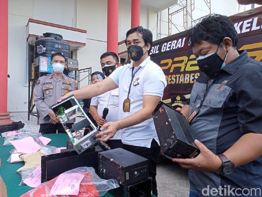 Bongkar Jaringan Narkoba dari Sumatera, Polisi Amankan 2,3 Kg Sabu di Surabaya