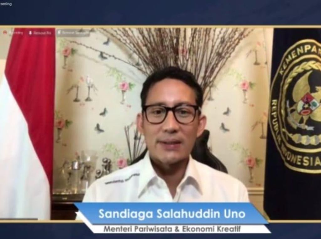 Sandiaga: Penyusunan AMDAL TN Komodo Dikebut, Segera Dikirim ke UNESCO