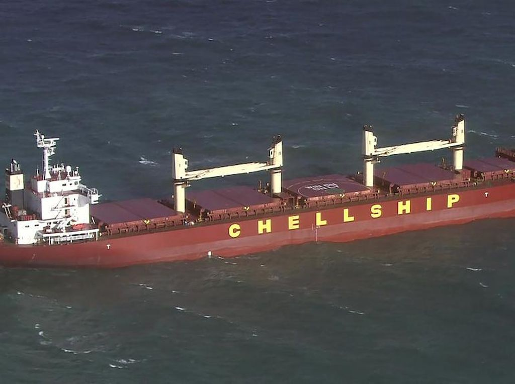 3 Awak Kapal yang Berlayar ke Singapura-RI Tiba di Australia dengan Positif COVID