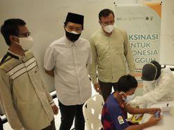 BSI- Pemkot JakPus Adakan Vaksinasi dari Masjid Ke Masjid, Percepat Herd Immunity