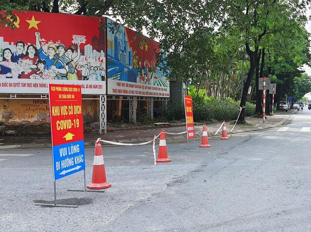 Corona Melonjak, Lockdown Belasan Kota di Selatan Vietnam Diperpanjang!