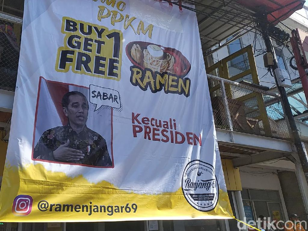 Promosi Ramen Kecuali Presiden Dianggap Hiburan di Tengah Pandemi