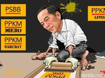 Bingung Jargon Pandemi Jokowi