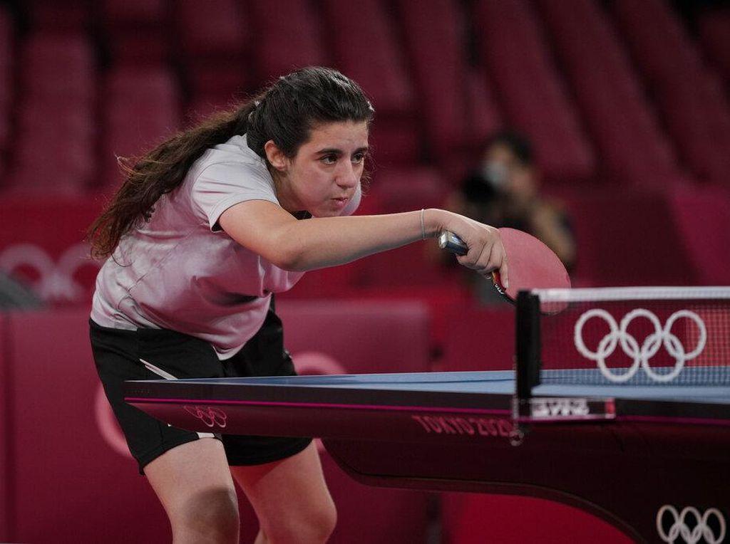 Aksi Hend Zaza, Atlet Termuda Olimpiade Tokyo 2020
