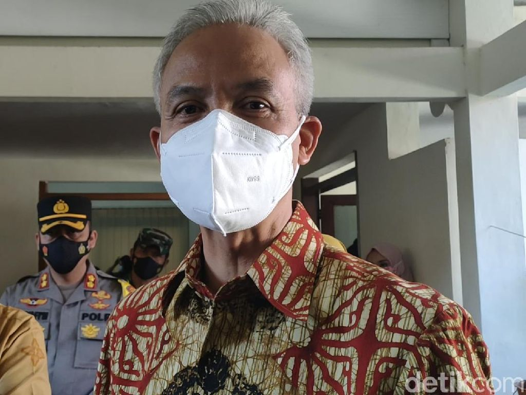 Ganjar Akui Sudah Ada Kajian soal Semarang-Pekalongan Akan Tenggelam