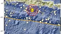 Gempa M 5,2 Terjadi di Pacitan Tidak Berpotensi Tsunami