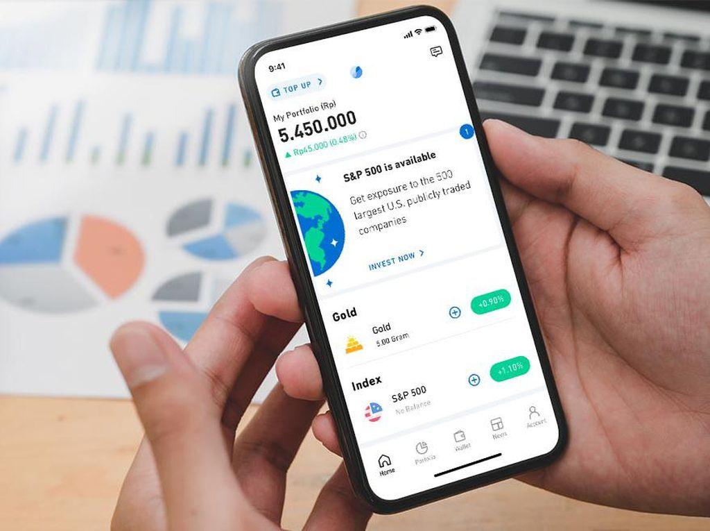 Aplikasi Investasi Pluang Tambah Fitur Pembayaran dengan GoPay