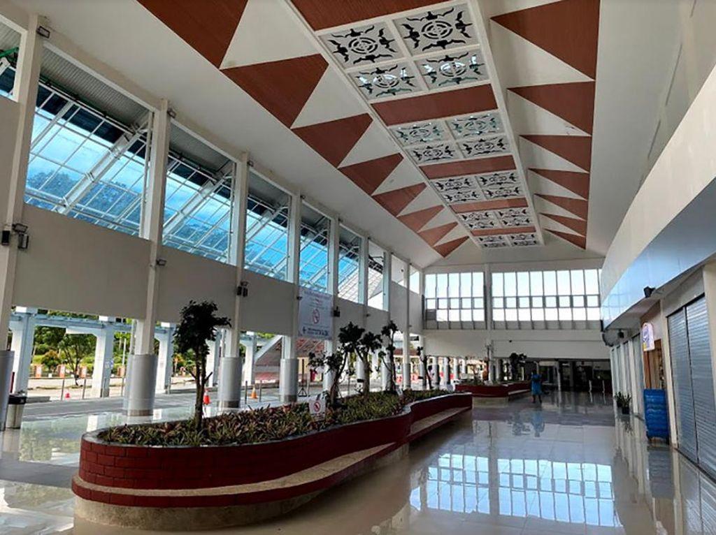 Amboi! Cantiknya Wajah Baru Bandara Pattimura Ambon