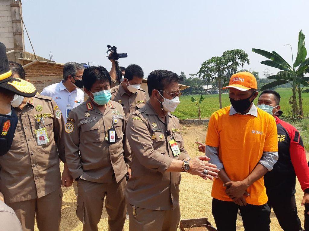 Mentan Minta Petani di Serang Banten Manfaatkan KUR Pertanian