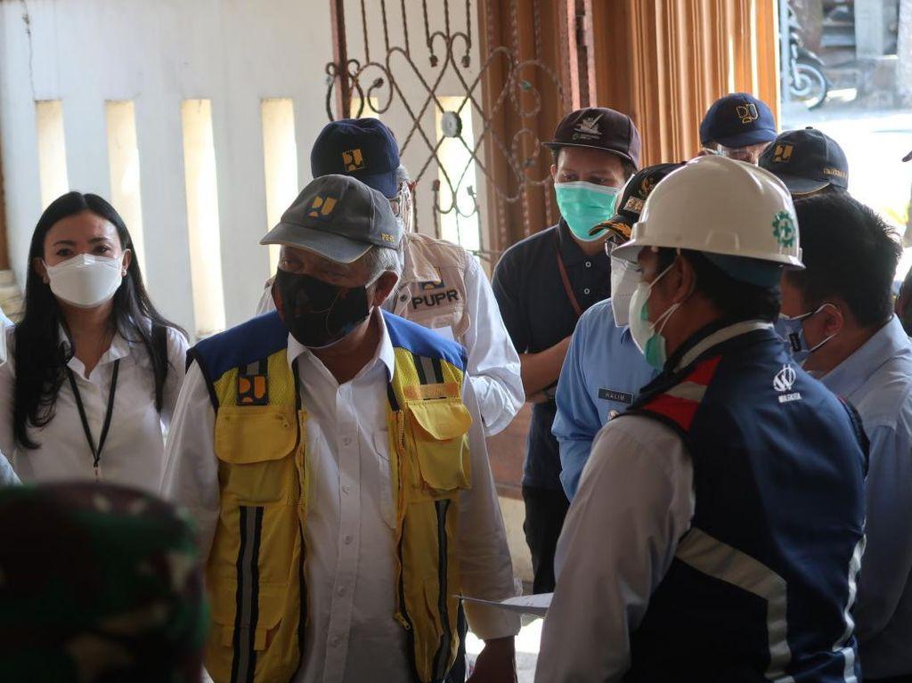 Menteri PUPR Tinjau RSLKC di Bantul, Akan Tambah 30 Bed