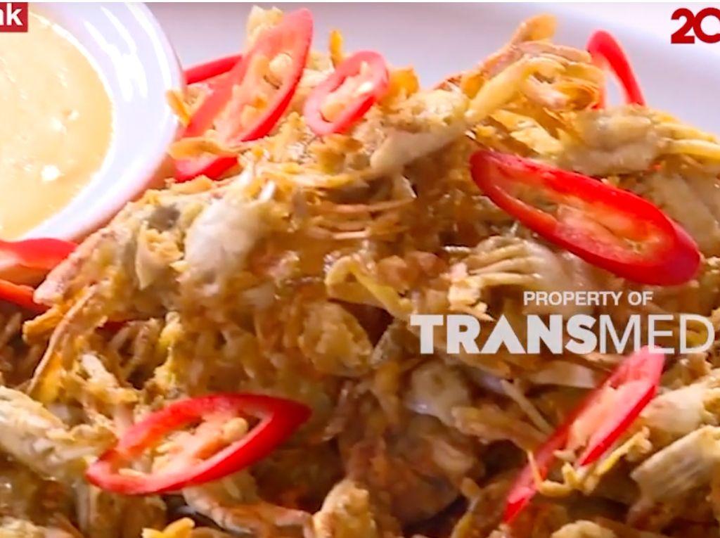 Masak-Masak: Resep Baby Crab Goreng Saus Telur Asin Buat Camilan