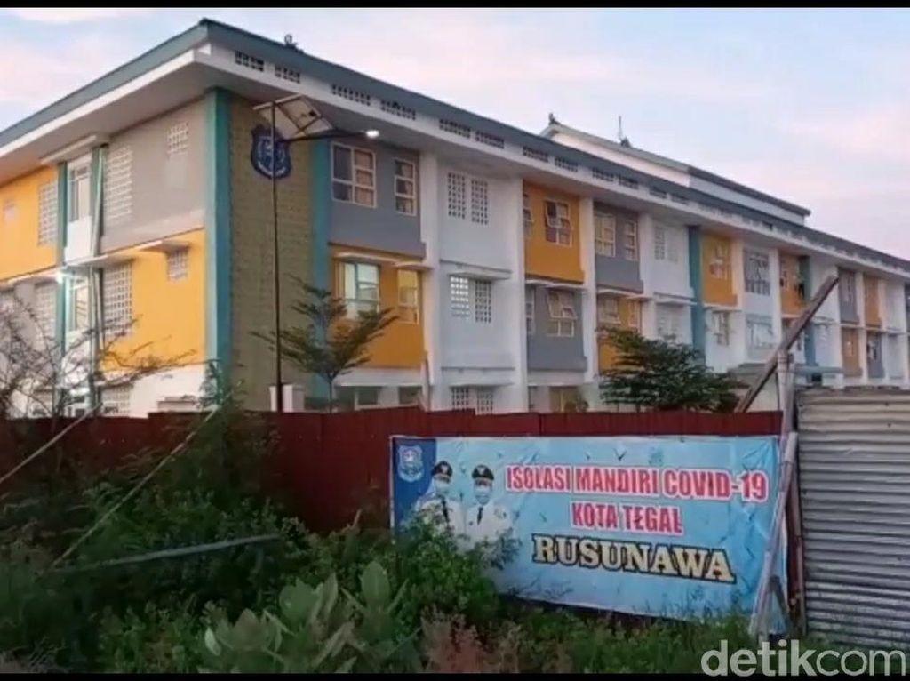 BOR Isolasi Terpusat Kota Tegal Rendah, Warga Pilih Isoman di Rumah