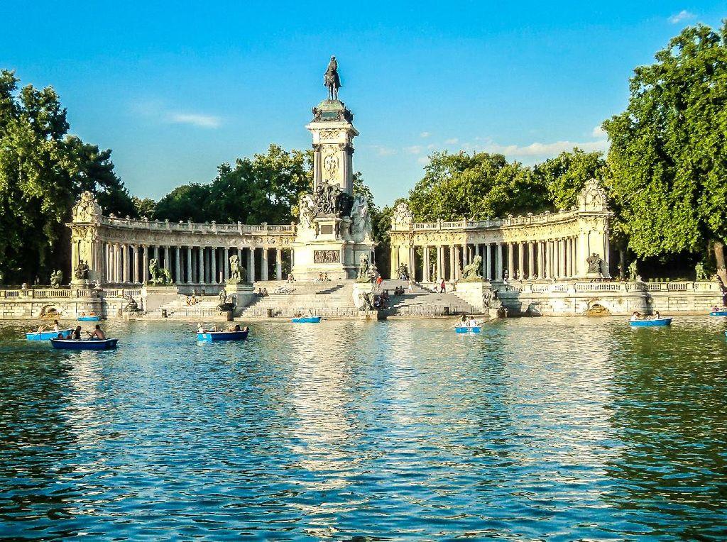 Jalan Raya dan Taman di Madrid Masuk Daftar Situs Warisan Dunia UNESCO