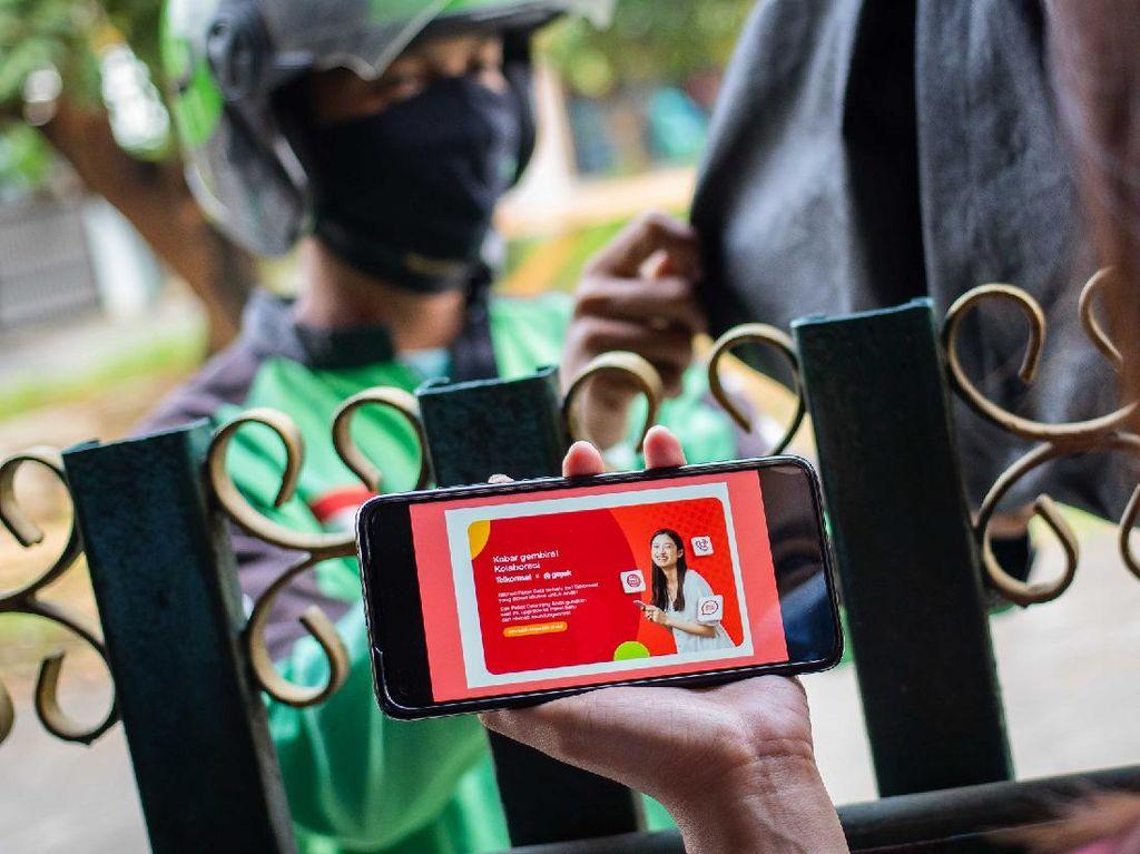 Dear UMKM Mitra Gojek, Ini Ada Paket Internet Murah Telkomsel