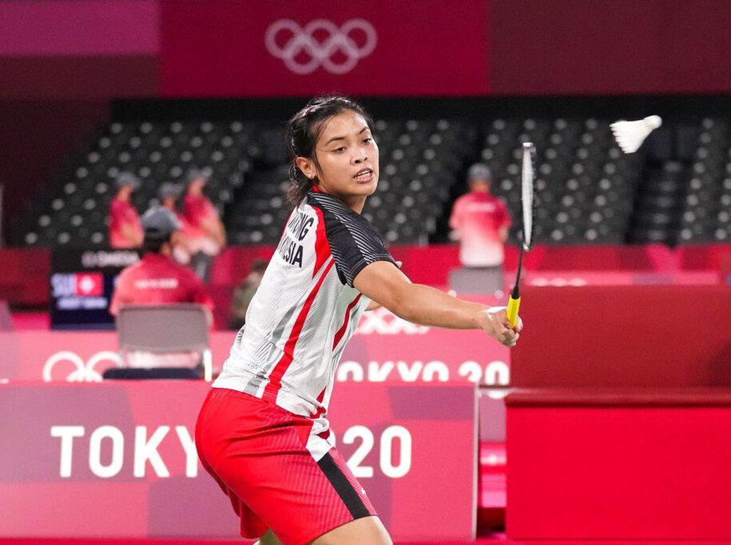 Olimpiade Tokyo 2020: Gregoria Juara Grup M
