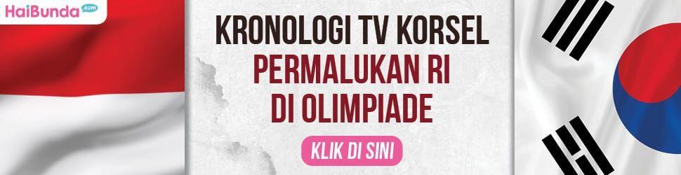 Banner Kronologi TV Korsel Permalukan RI