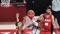 Olimpiade Tokyo 2020: Tim Basket AS Gilas Iran 120-66