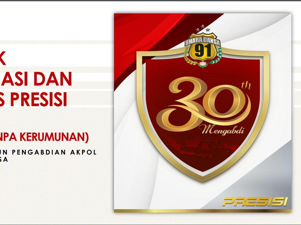 Akpol 91 Gandeng Aplikator Ojol, Bagikan Sembako Online Serentak 31 Juli