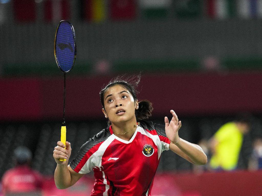 Jatuh Bangun Gregoria Hingga Tersingkir di 16 Besar Olimpiade Tokyo