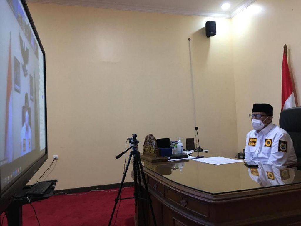 Gubernur Banten Ajak Kepala Sekolah Perangi Hoaks COVID-19