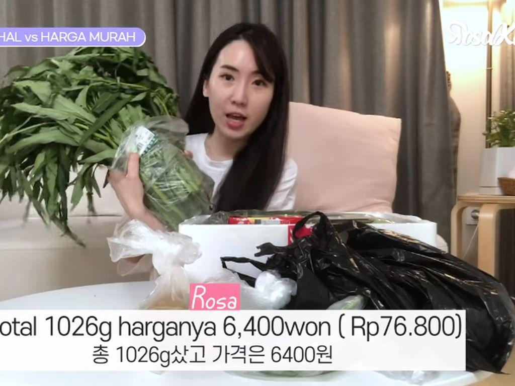 Kangkung hingga Bakso Mercon Jadi Favorit 5 Youtuber Korea Ini