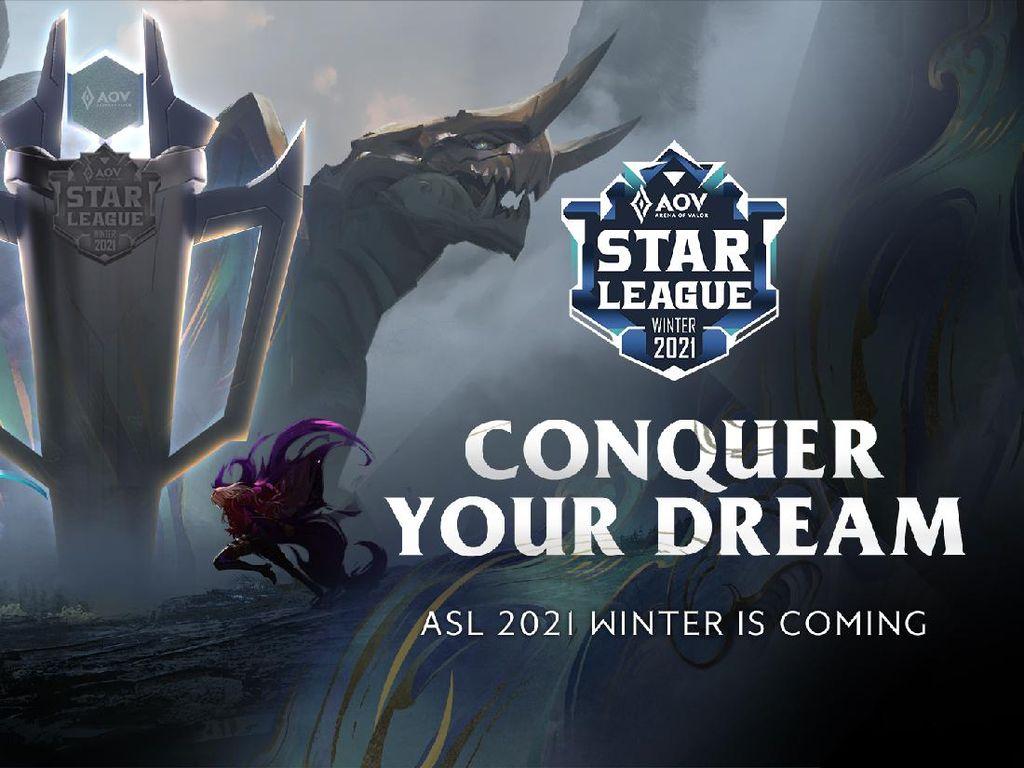 Jadilah Wakil RI di Kualifikasi Arena of Valor Star League 2021 Winter