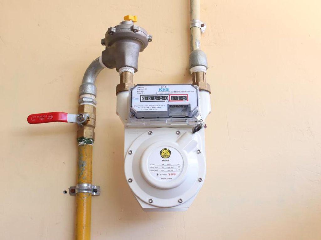 Pemerintah Salurkan Gas Pertama dari Jaringan Gas Kota Cirebon