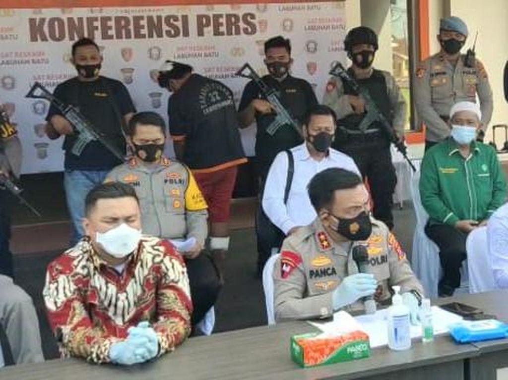 Polisi Ungkap Kronologi Ketua MUI Labura Tewas Dibacok dengan Sadis