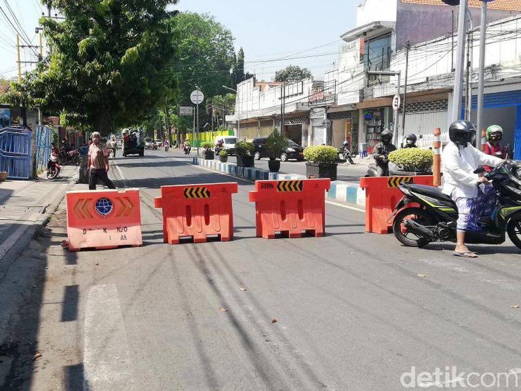 PPKM Level 4, Kota Pasuruan Buka Tutup Penyekatan Jalan