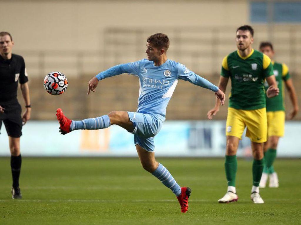 Man City Vs Preston North End: Pemain Muda The Citizens Puaskan Guardiola
