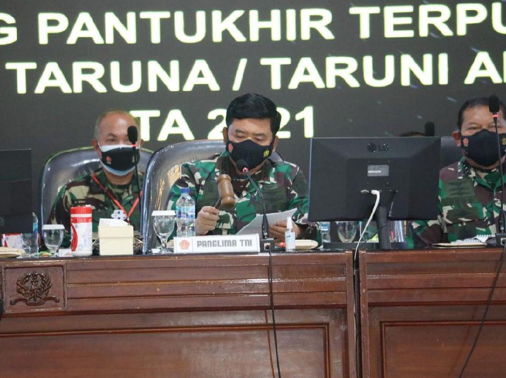 Panglima TNI Pimpin Sidang Pantukhir Terpusat Akademi TNI