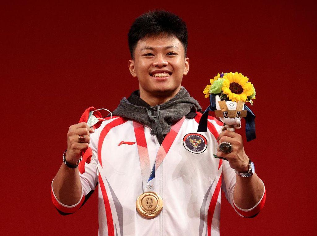 8 Fakta Rahmat Erwin, Peraih Perunggu Olimpiade Tokyo 2020