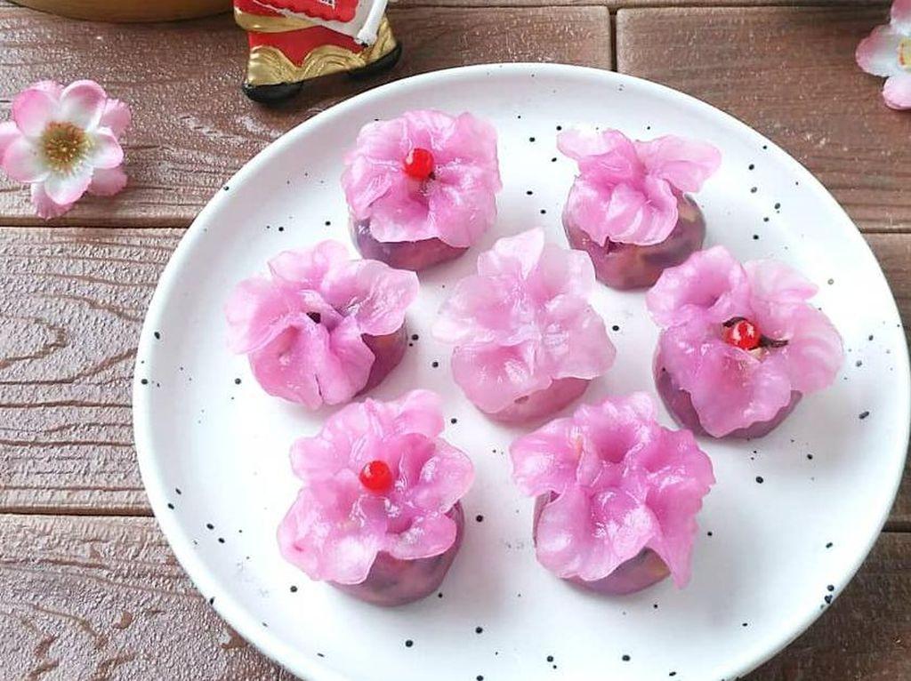 Resep Pembaca: Dimsum Bunga Cantik yang Gurih Kenyal