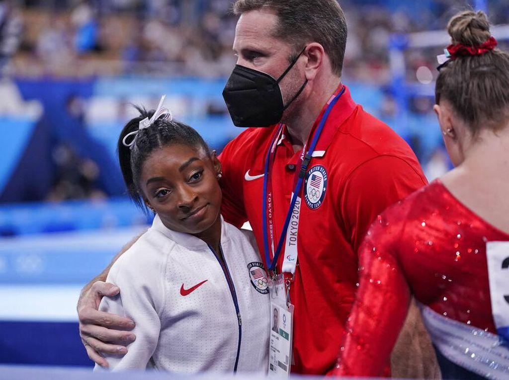 Simone Biles Mundur dari Final Olimpiade, Utamakan Kesehatan Mental