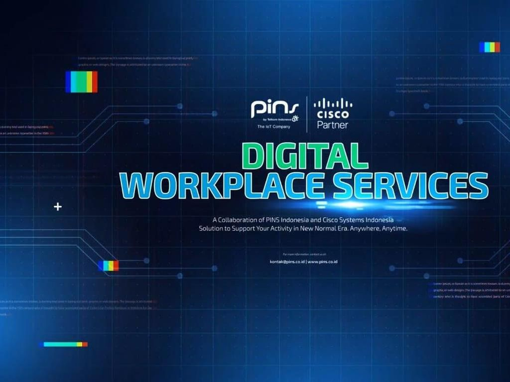 Digital Workplace PINS Indonesia, Solusi Efektif New Normal IT