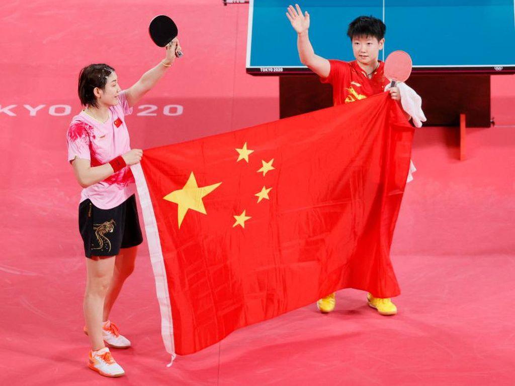 Klasemen Sementara Medali Olimpiade Tokyo 2020: China Geser Jepang