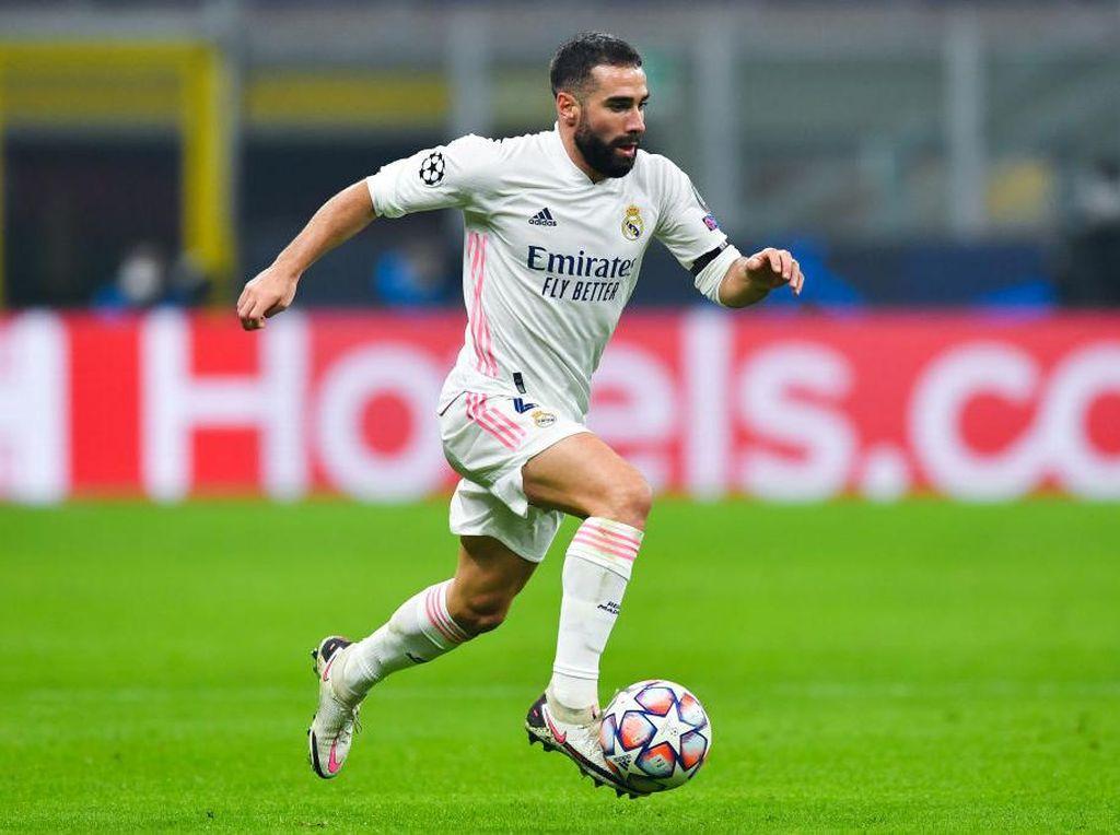 Dani Carvajal Lanjut di Real Madrid Hingga 2025