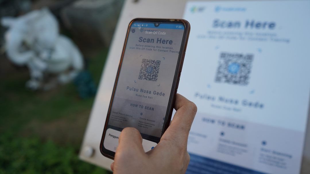 Digital Tracing PeduliLindung Application in Bali
