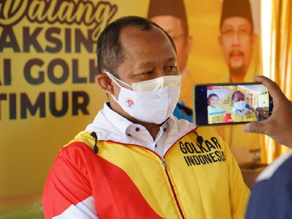 Ketua Golkar Jatim Tolak Isoman Anggota DPR Dibiayai Negara